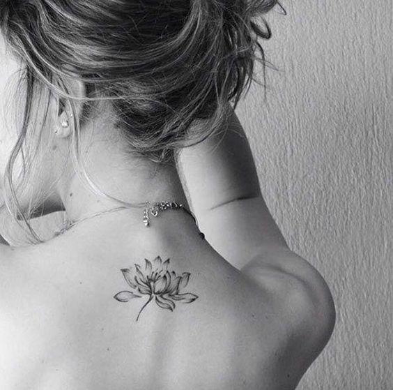 Resultado de imagen para lotus flower tattoo