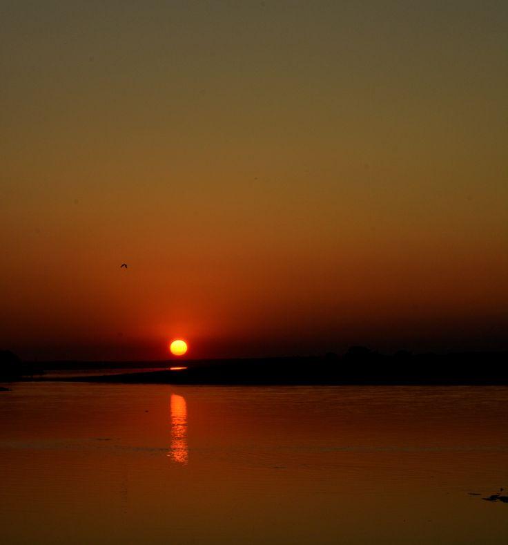 Photography #sunset #brahmaputra #dibrugarh