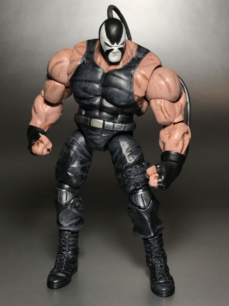 D F Afce B Aad F C Custom Action Figures Bane on Dc Universe Killer Croc Toys