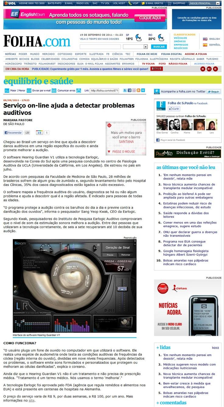 Biosom na #Folha