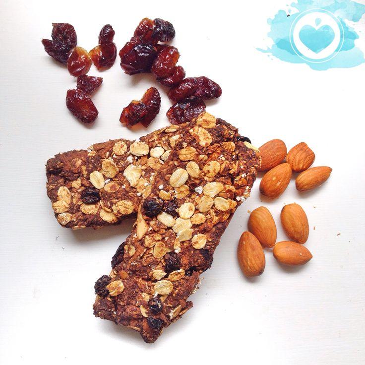 Home made sugar and oil free granola bars