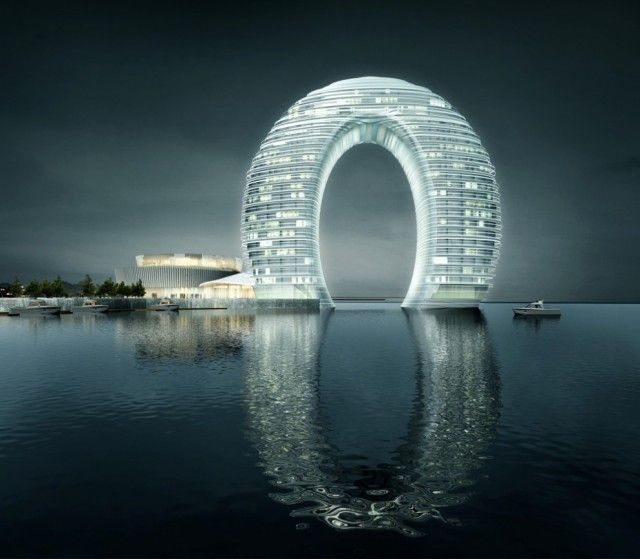 Sheraton Hotel by Mad Architects