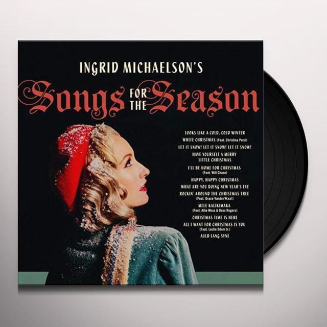 Ingrid Michaelson S Songs For The Season Vinyl Record In 2020 Ingrid Michaelson Songs Ingrid