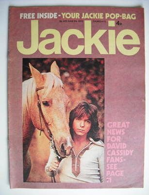 Used to love this mag, found out recently that Jackie is actually Jaqueline Wilson!!!!