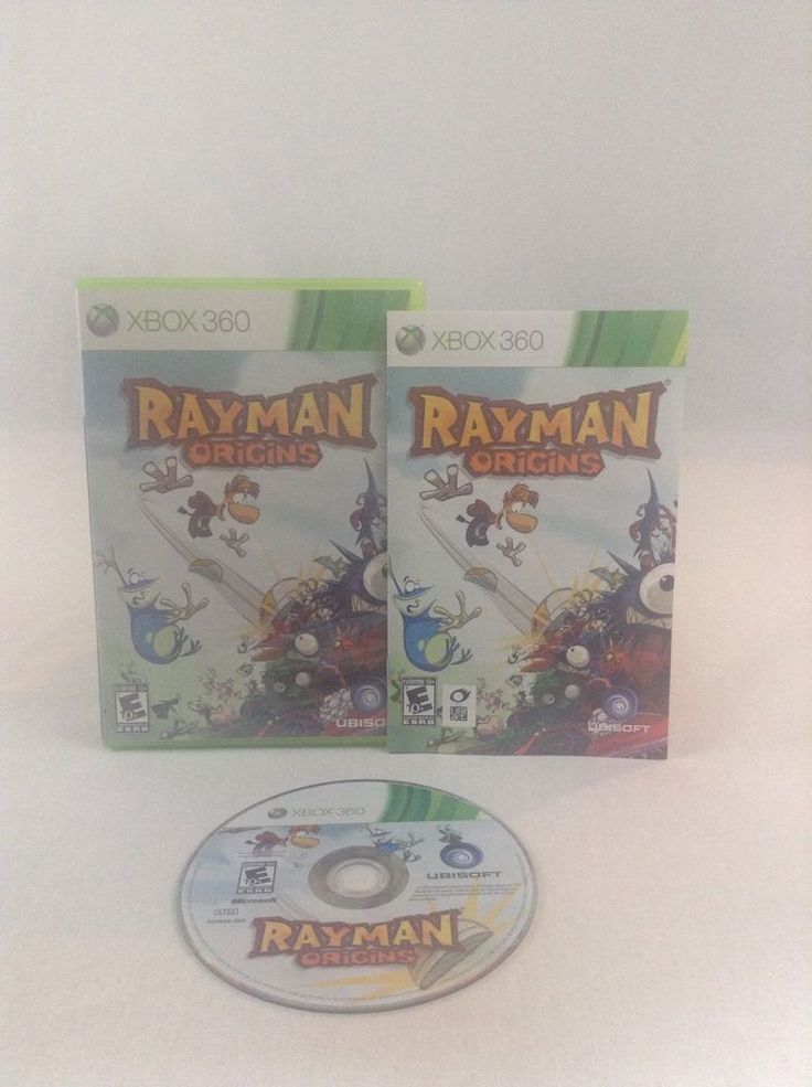 2010 Tested & Working Microsoft Xbox 360 Rayman Origins Adventure Video Game #Xbox360