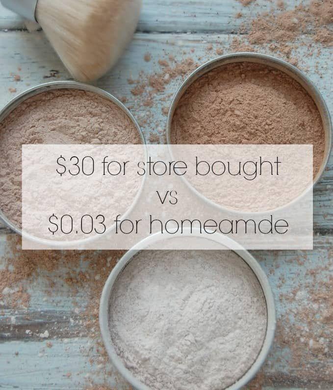 Homemade Natural Face Powder