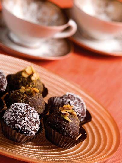 Çikolatalı bonbonlar Tarifi - Tatlı Tarifleri Yemekleri - Yemek Tarifleri