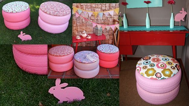 DIY: Tyre Chairs | Women24