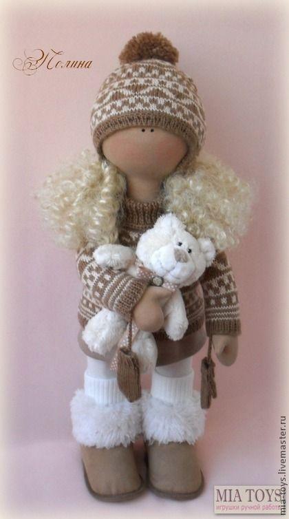 Коллекционные куклы ручной работы. Ярмарка Мастеров - ручная работа Кукла Полина. Handmade.