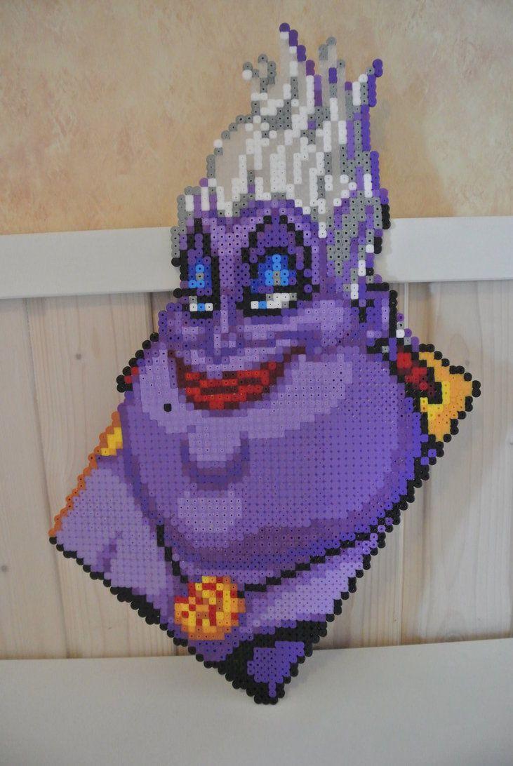 The Sea Witch - Ursula perler beads by Jelizaveta