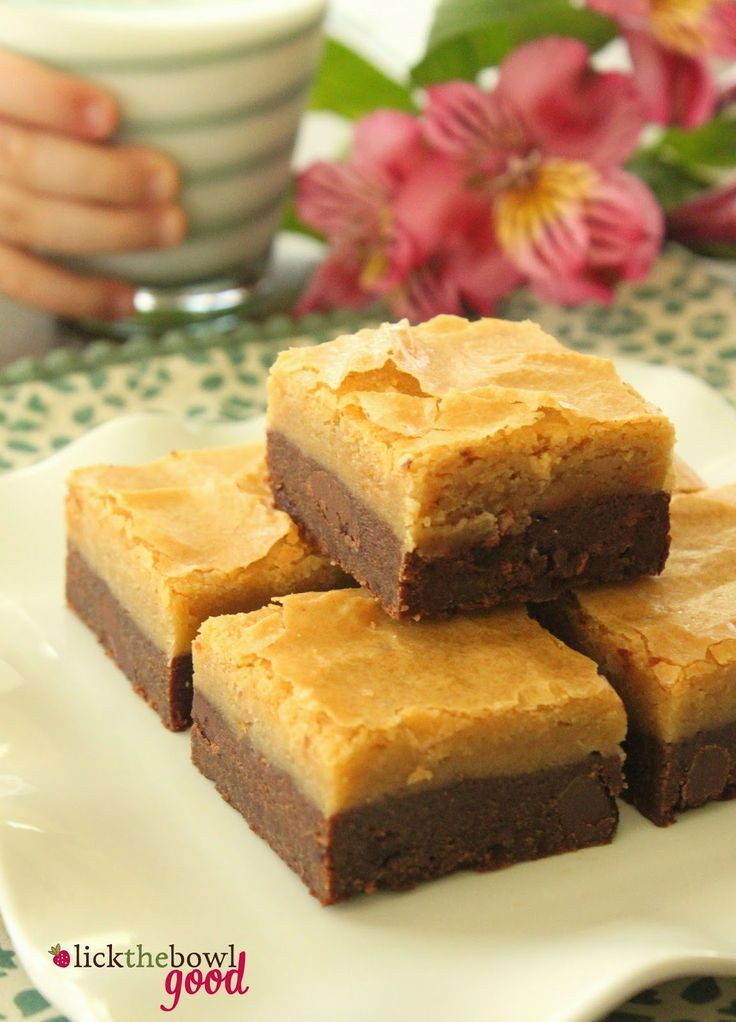 Lick The Bowl Good: Black Bottom Cookie Bars