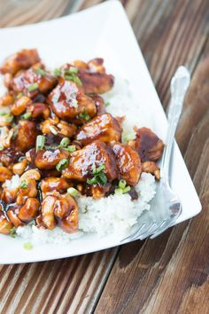 Our favorite Quick and Easy Cashew Chicken!  If you haven't tried this, add it to your MUST list!