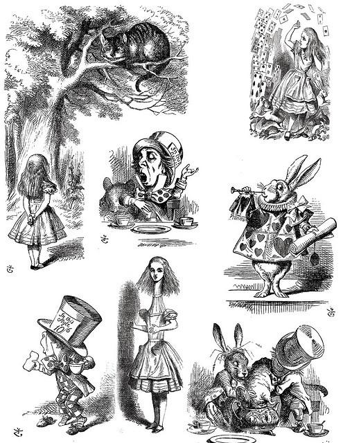 Alice In Wonderland http://www.pinterest.com/alicialand/alicia-empapelada/