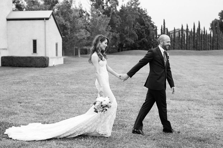 Happily married #love #justmarried #wedding #yarravalley #chapel #vineyard #bride #weddingdress #groom