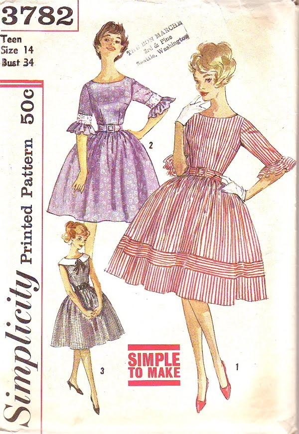 78  images about Vintage clothing on Pinterest | Vintage sewing ...