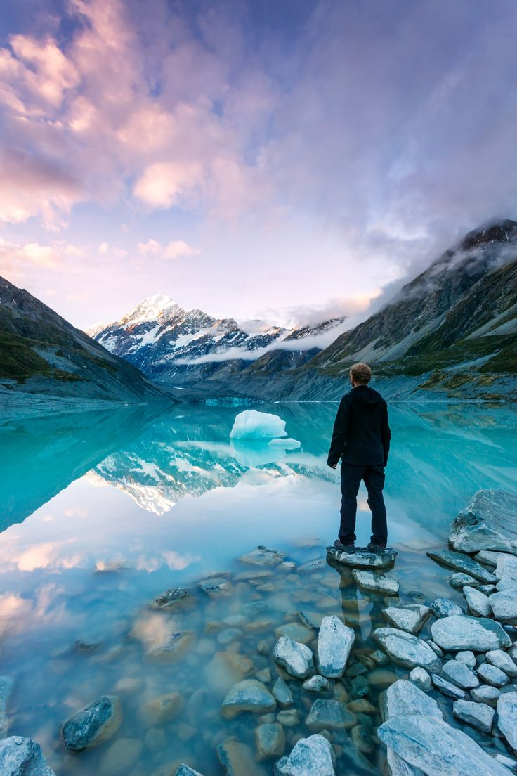 Our current issue's cover image is of Hooker Lake, Mount Cook, NZ
