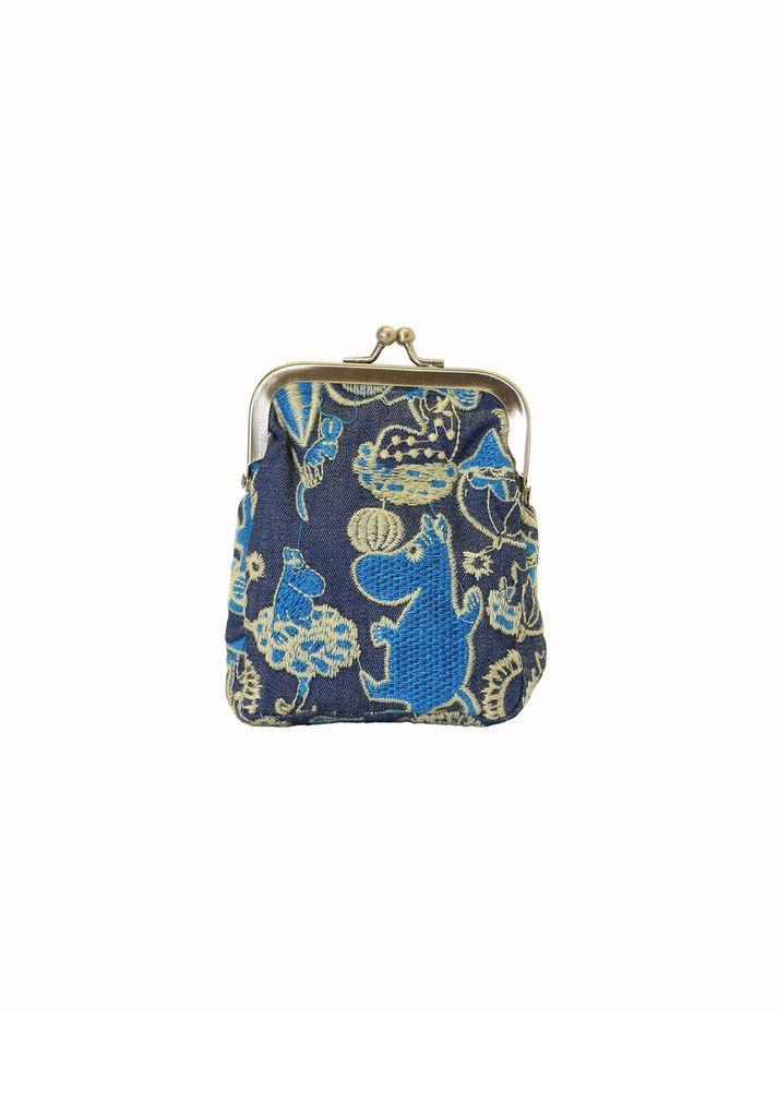 Ivana Helsinki - Moomin denim purse