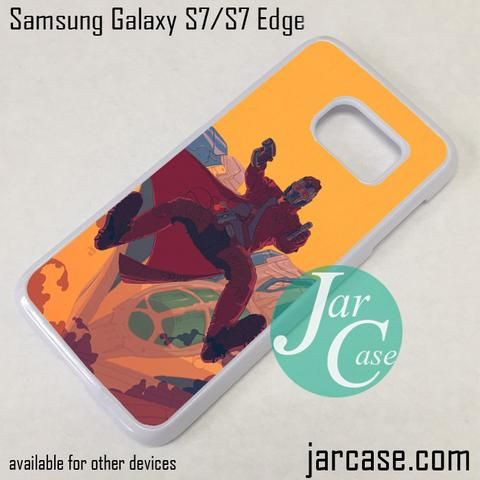 Guardian Of The Galaxy Star Lord Phone Case for Samsung Galaxy S7 & S7 Edge