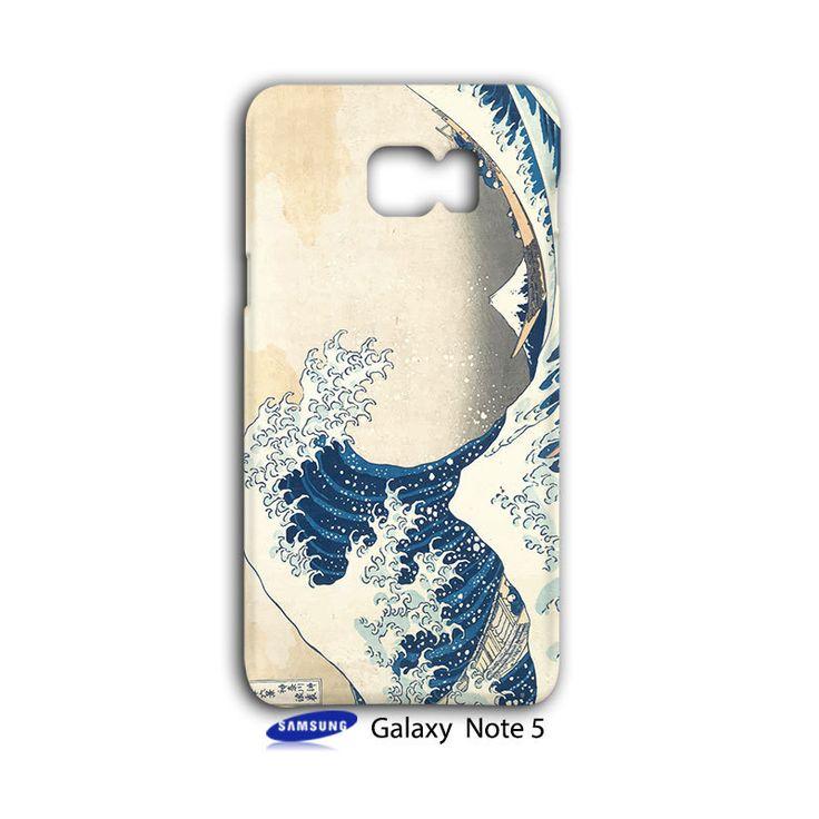 Hokusai Art Paint The Big Wave Artist Samsung Galaxy Note 5 Case Wrap Around