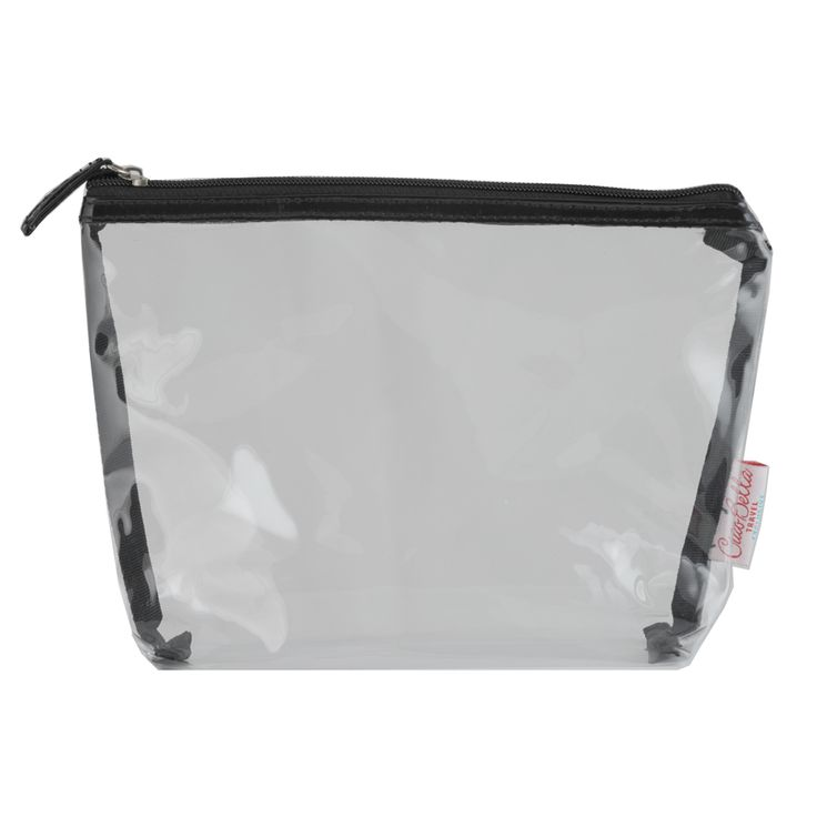 CBT Exclusive See-through Travel Pouch - $5.50 #clearpouch #travelpouch