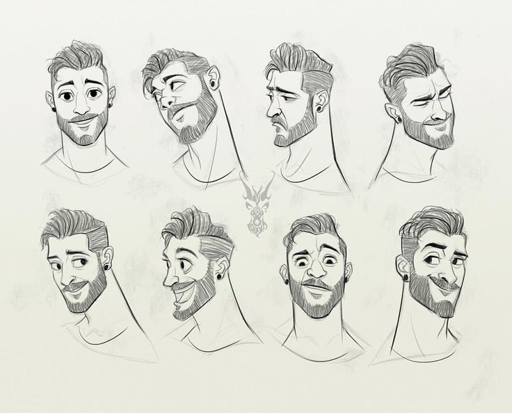 male character reference - photo #5