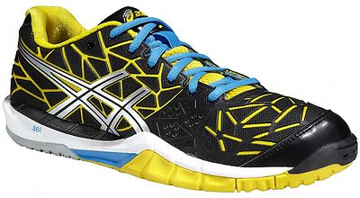 NEW Asics Gel Fireblast Indoor Shoes Handball Trainers black Women E467N9004 WOW