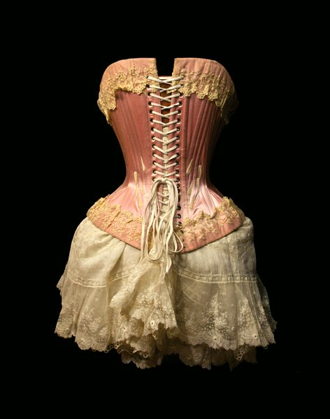 Lovely Victorian antique corset from Lace Embrace collection