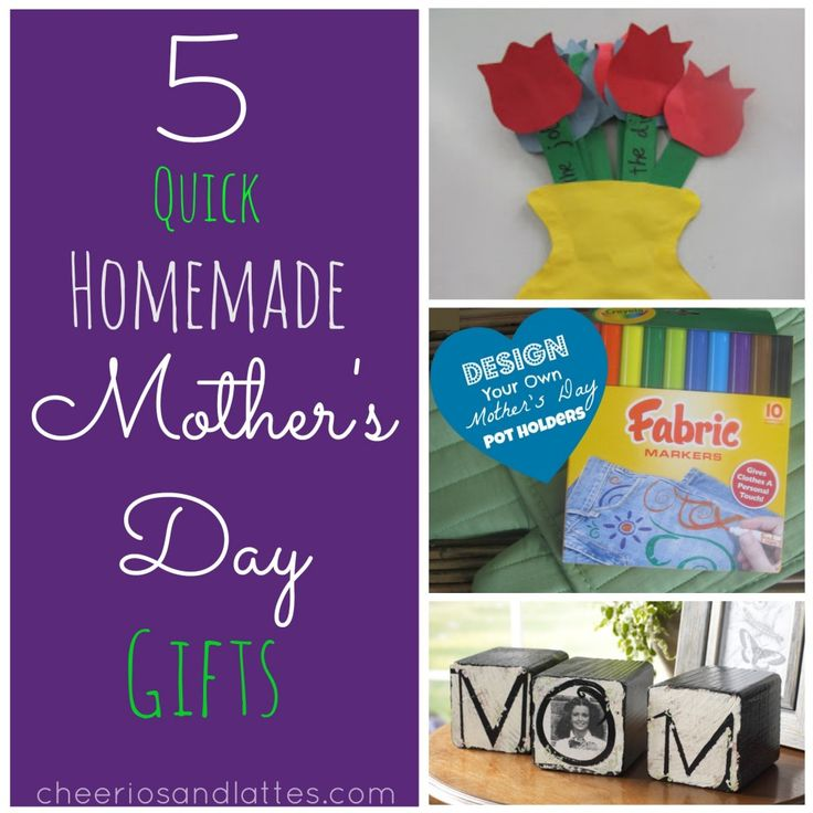 great homemade mothers day - 736×736