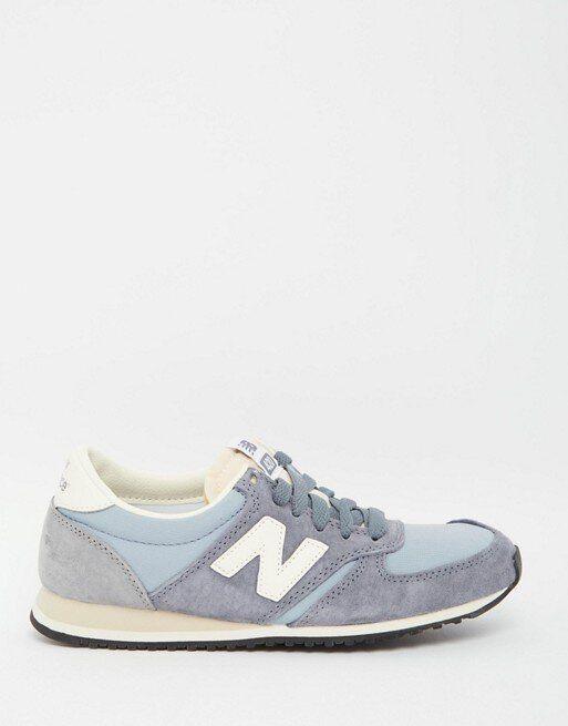 embotellamiento Día del Maestro Visión general  New Balance 420 Vintage Trainers in Baby Blue | Vintage sneakers, New  balance 420, New balance