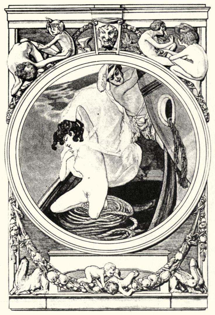 Franz von Bayros - 049 | Franz von Bayros (1866-1924 ...