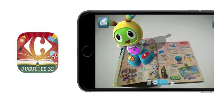 Carrefour Juguetes 3D, un catálogo de juguetes como nunca lo viste antes - http://www.actualidadiphone.com/carrefour-juguetes-3d-catalogo-juguetes-nunca-lo-viste/