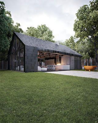 An Urban Village: ARMADILLO SUMMER HOUSE - SERGEY MAKNHO ARCHITECTURAL WORKSHOP