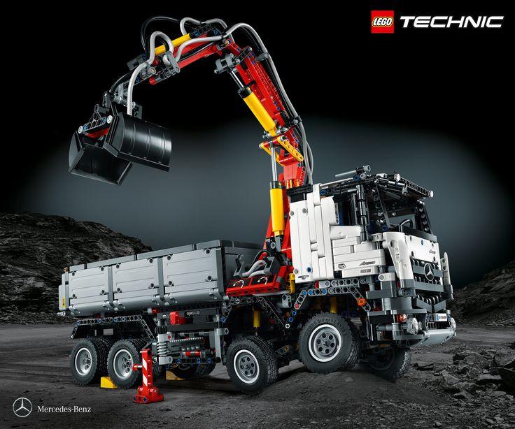 #Lego aggiunge il #truck Arocs 3245 ribaltabile di #Mercedes-Benz alla sua gamma Technic