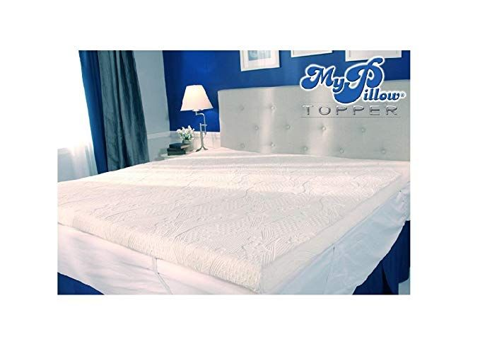 Mypillow My Pillow Three Inch Mattress Bed Topper Queen Review Pillow Mattress Mattress Mattress Topper Reviews