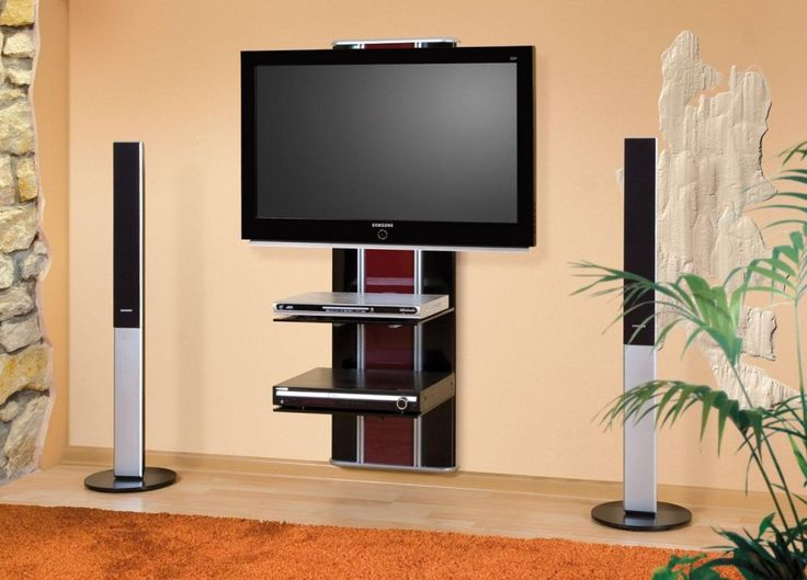 Living Room, Orion Lux Wall Mounted Tv Stand The Elegant Room With The Tv On The Wall Ideas That Look So Amazing With The Great And Smart Design With The Great Layout That Look So Elegant: If You Want To Experience The Best Of Tv On The Wall Ideas That Can Handle The Weight