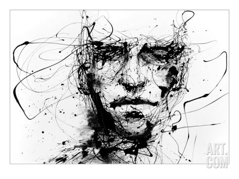 Lines Hold The Memories Giclee Print by Agnes Cecile at eu.art.com