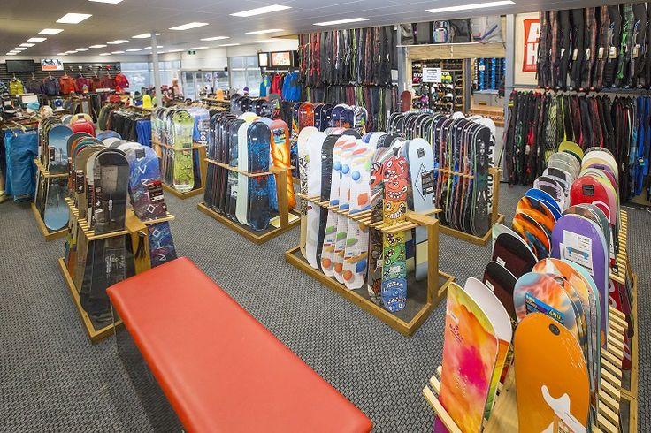 Rhythm Snowboard Store Retail