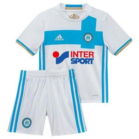 Camisetas del Olympique De Marseille para Niños Home 2016 2017