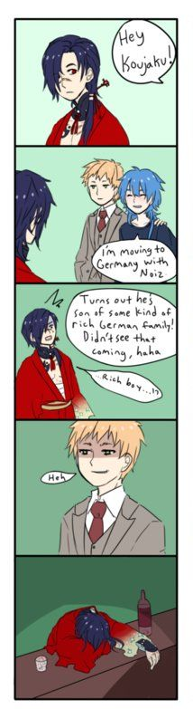 Koujaku Funny Moment with Noiz + Aoba