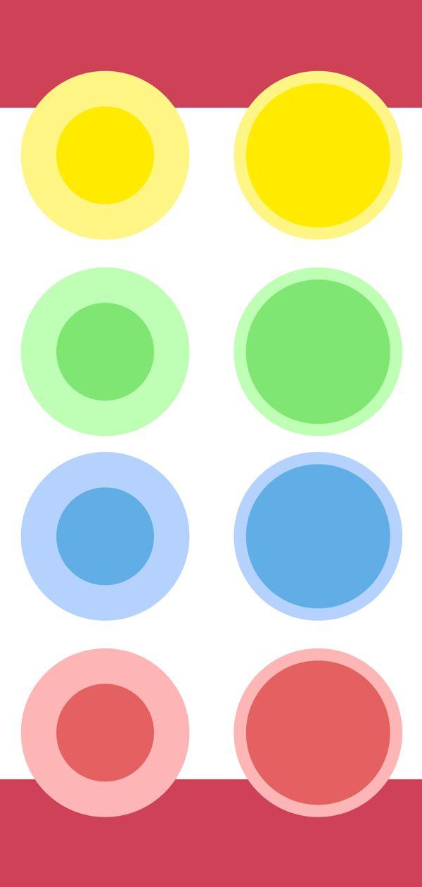 Led lights color picker concept