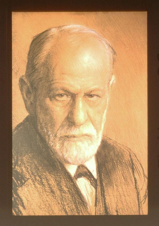 Sigmund Freud by Ferdinand Schmutzer