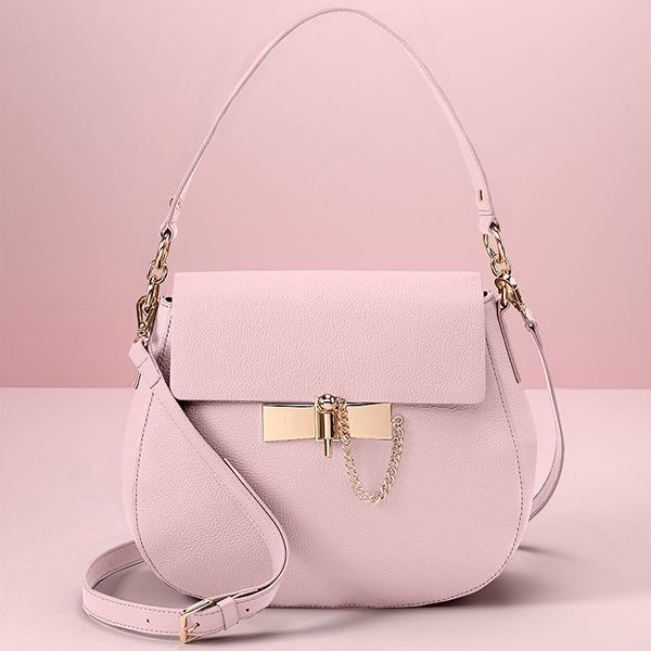 LC Lauren Conrad Runway Collection Leather Saddle Hobo in Steel | What Team LC Is Wearing