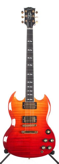 2003 Gibson SG Supreme Lavaburst