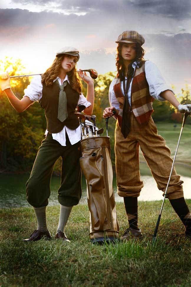Old Fashioned Golf Gear