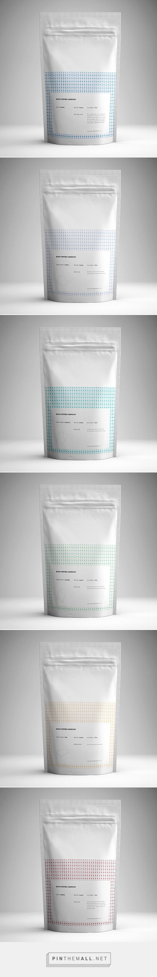 Raw Coffee Company | Lovely Package - created via http://pinthemall.net
