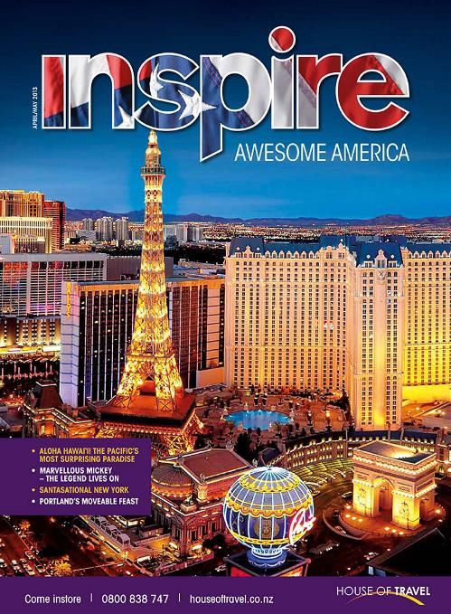 There's spectacular variety in the USA! Be inspired by the Awesome America edition of House of Travel's Inspire Magazine.