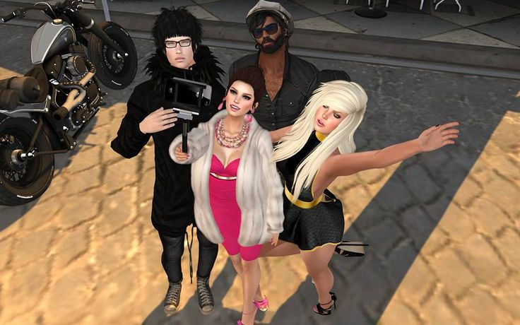 Together in Second Life.