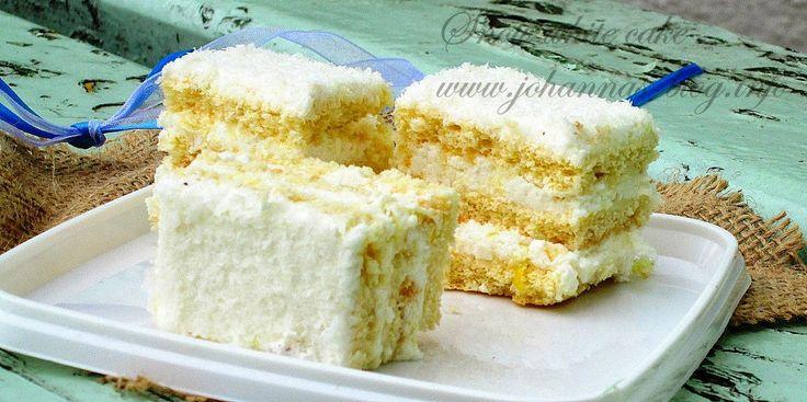 Johanna's recipes: Snow White cake