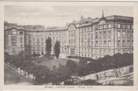 Praha 2, Karlovo náměstí, Lékařská fakulta - Hlavů