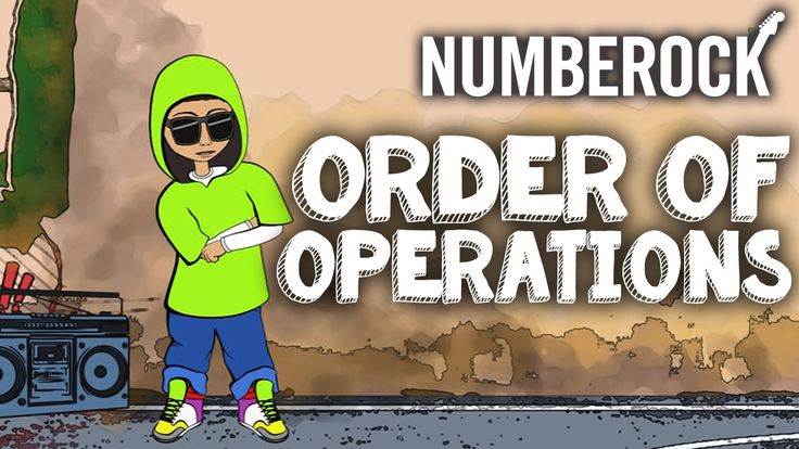 Order of Operations Song | PEMDAS Rap by NUMBEROCK
